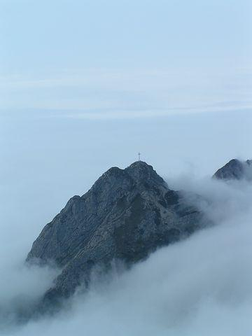 Giewont, The Fog, Top, View, Reverie