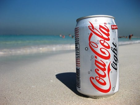 Soft Drinks, Drink, Sand, Sandy Beach, Dubai, Shadow