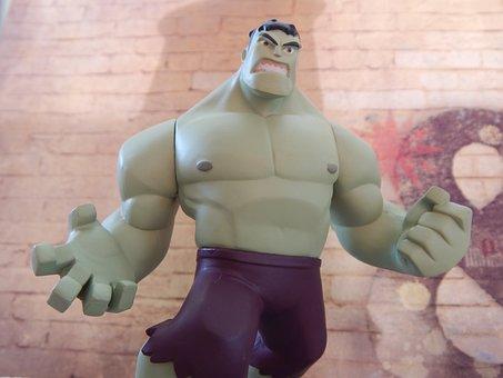 Hulk, Superhero, Angry, Strong, Comics, Character