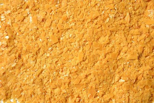 Carnauba Wax, Plates, Texture, Yellow