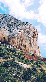 Sea, Calp, Spain, Travel, Vacation, Mountain, Rock