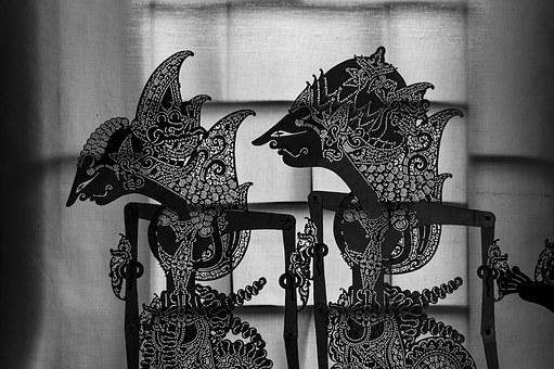 Wayang, Puppet, Shadow, Traditional, Java, Indonesia