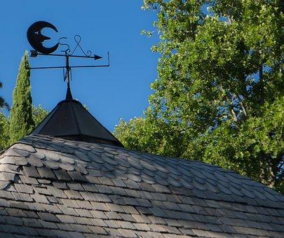 Veleta, Wind Direction Indicator, Roof, Fireplace, Wind