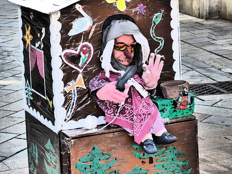 Street Theater, Witch's House, Puppet Show