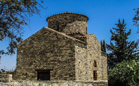 Cyprus, Kato Lefkara, Ayios Timotheos, Church