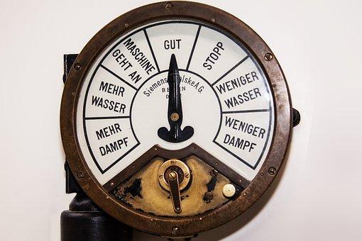 Boiler Telegraph, Kommunilation, Command Bridge