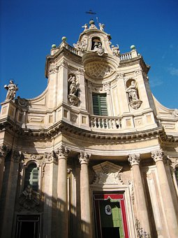 Dom, Catania, Cathedral, Church, Spain, Building