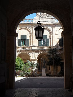 By Looking, Courtyard, Goal, Lantern, Archway, Building
