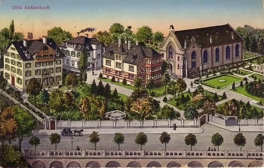 Cannstadt, Postcard, Old, Retro, Nostalgic, Ancient