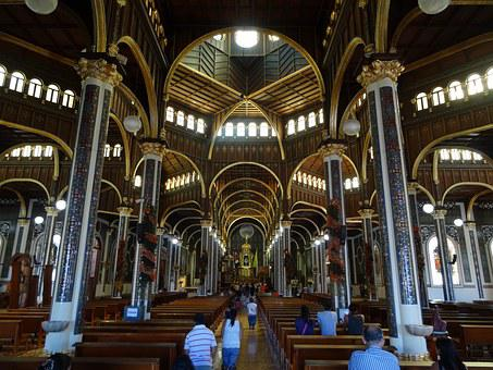 Church, Costa Rica, Cartago, Central America