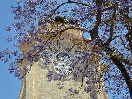 Grand Master's Palace, Tower, Clock, Clock Tower