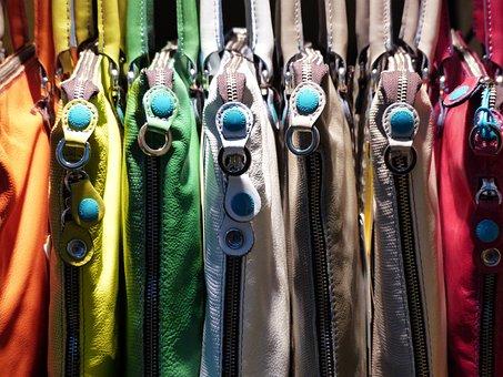 Zips, Bags, Handbags, Colorful, Color, Bag, Closure
