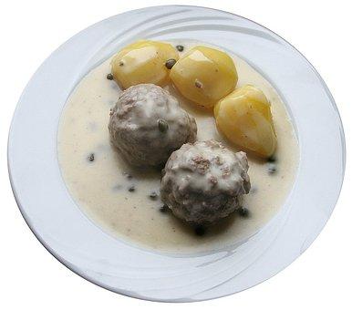 Meatballs, Cooking Meatballs, Soßklopse, Dumpling