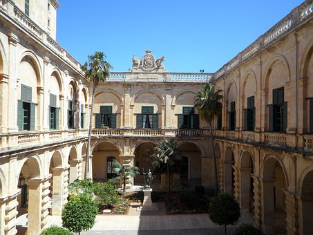 Grand Master's Palace, Courtyard, Palace, Building