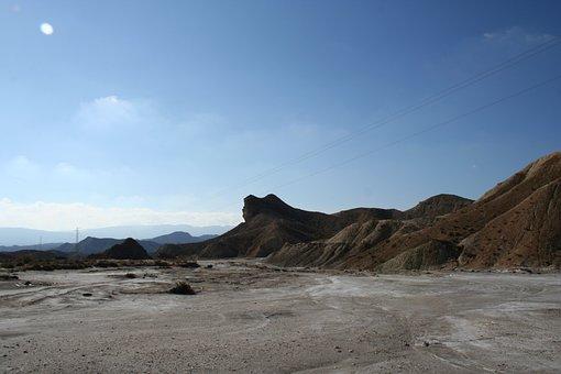 Desert, Arid, Dry, Landscape, Volcanic, Rock