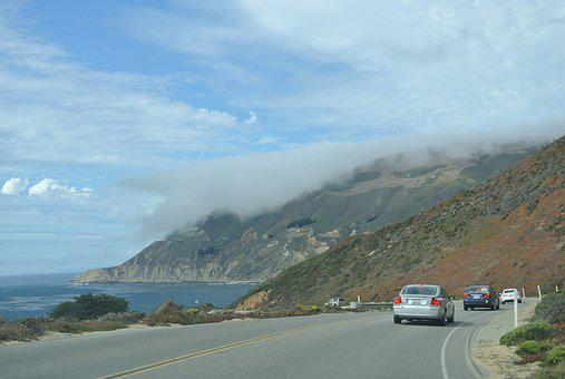 Transpacific, Highway, Big Sur, Route 1, Driving