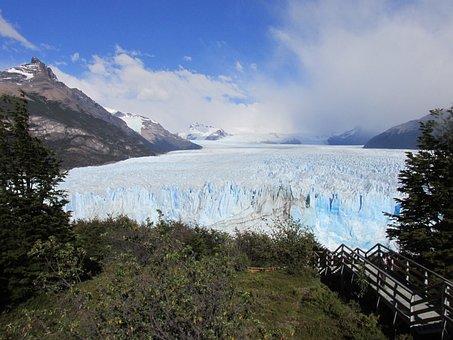 Glacier, Frozen River, Ice, Cold, Ice Cream, Argentina