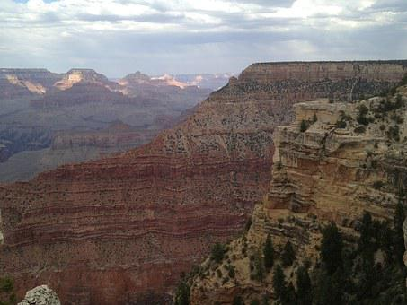 Canyon, Grand, Grand Canyon, Arizona, Park, Desert