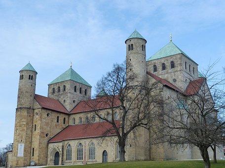 Hildesheim Germany, Lower Saxony, Church, Historically