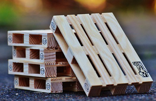 Euro Pallets, Wood, Stack, Industry, Pallets, Stacked