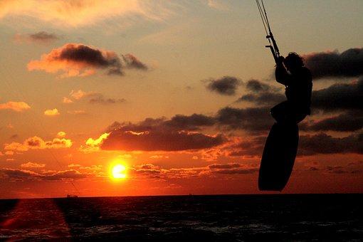 Kite Surfing, Sport, Kitesurfing, Kite, Kitesurfer