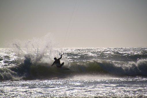 Kite Surfing, Kitesurfer, Kitesurfing, Kite Surf