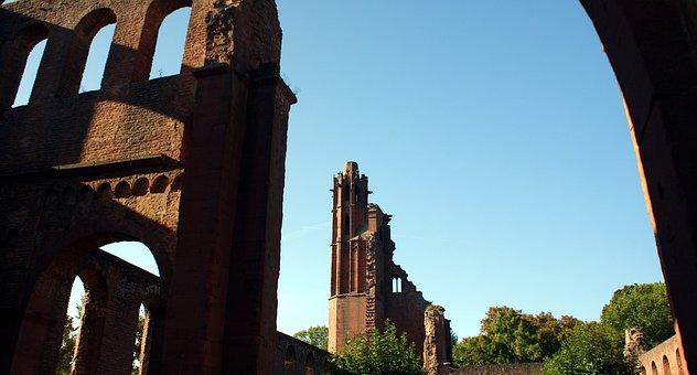 Limburg, Palatinate, Ruin, Wanderer, Sachsen