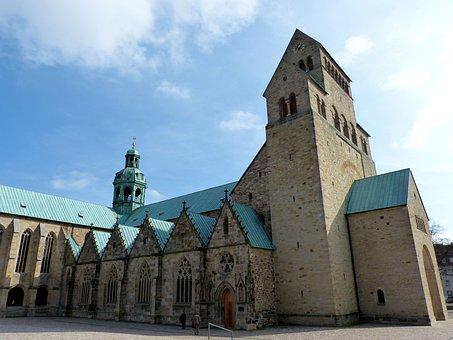 Hildesheim Germany, Lower Saxony, Church, Dom