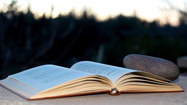 Book, Stone, Lyrics, Open Book, Read