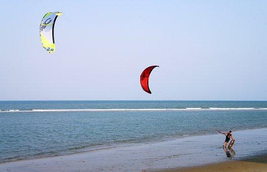 Surfing, Sea, Sport, Wind, Man, Windsurfing, Water