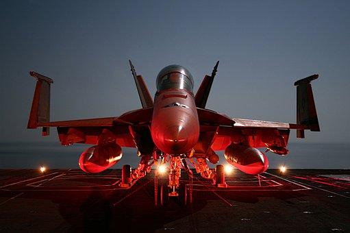 F-18, Super, Hornet, Aircraft Carrier, Military, Usa