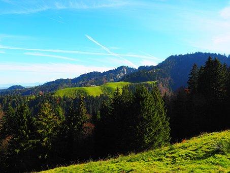 Mountain, Bowl, Hike, Destination, Switzerland