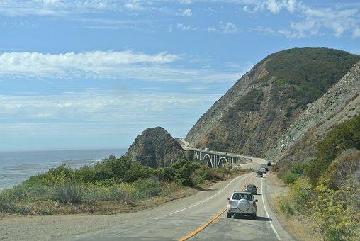 Transpacific, Journey, Pacific, Big Sur, Cliffs
