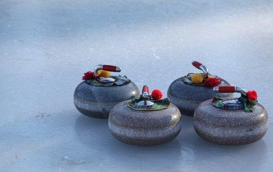 Curling, Bonspiel, Winter, Sport, Ice, Rink, Stones