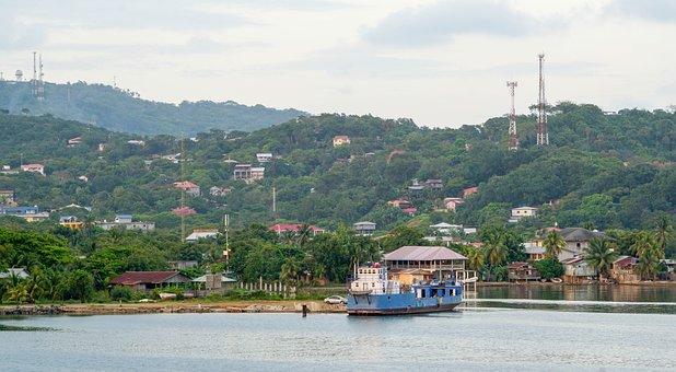 Roatan, Honduras, Port, Tropical, Caribbean, Nature