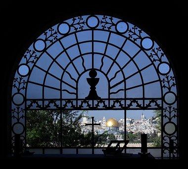 Jerusalem, Temple, Dominus Flevit, Mount Of Olives