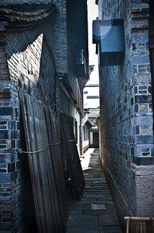 Building, Alley, Ancient Architecture, China Wind