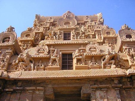Temple, Brihadeeswara, Gopuram, Architecture, Southern