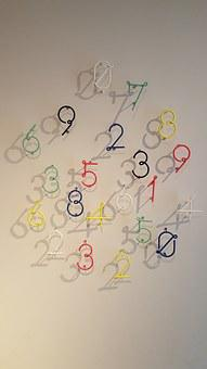 Numbers, Clock, Art, Works, Contemporary Art, Wall