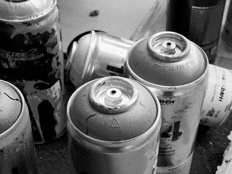 Graffiti, Painting, Tag, Black And White, Art, Bomb
