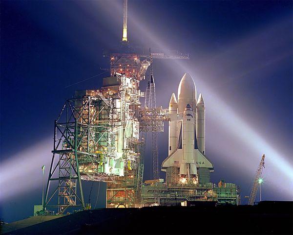 Columbia, Cape Canaveral, Florida, Rocket, Evening