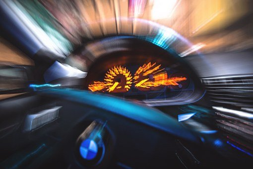 Car, Dashboard, Blur, Motion, Ride, Vehicle, Automobile