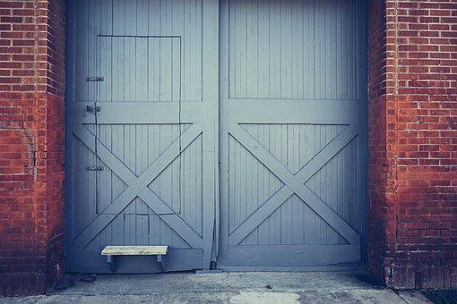 Doors, Double, Entrance, Home, House, Architecture
