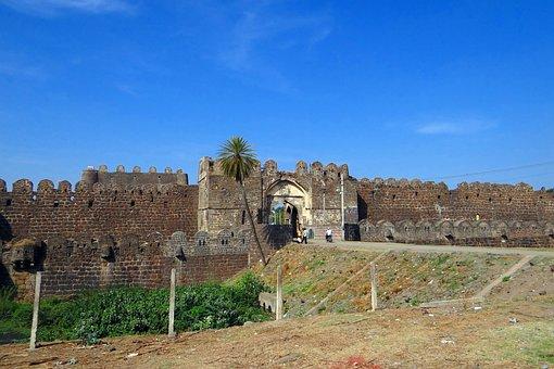Gulbarga Fort, Entrance, Bahmani Dynasty, Indo-persian