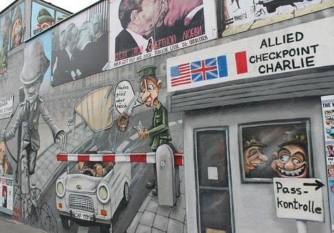 Berlin, Wall, Germany, War, History, Capital