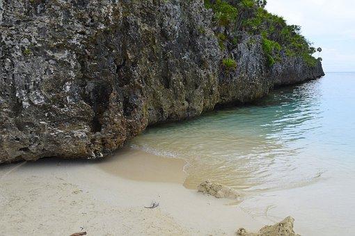 Roatan, Honduras, Rock, Snorkel, Caribbean, Scenic