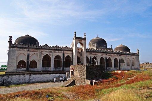 Jama Masjid, Gulbarga Fort, Bahmani Dynasty