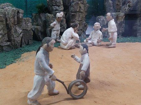 Earthenware Figurines, Joseon Dynasty, Commons