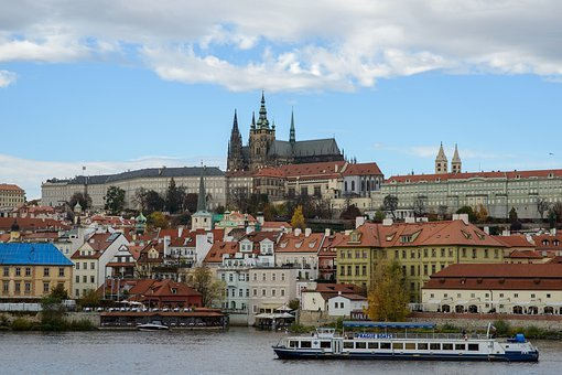 Prague, Lamps, Detail, Streets, Places, History