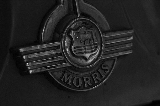 Logo, Brand, Morris Minor, Car, Badge, Symbol, Identity